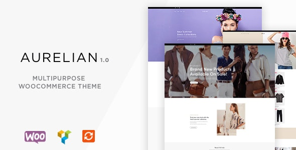 Aurelian - Multipurpose WooCommerce Theme 5