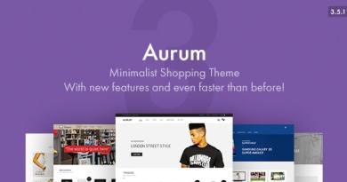 Aurum - Minimalist Shopping Theme 2
