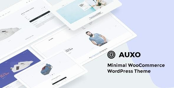 Auxo – Minimal WooCommerce Shopping WordPress Theme 4