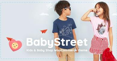 BabyStreet - WooCommerce Theme for Kids Toys and Clothes Shops 3