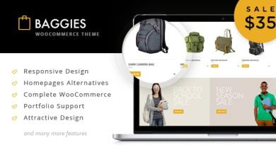 Baggies - WooCommerce Marketplace Themes 2