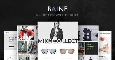 Baine | Responsive Multipurpose WooCommerce Theme 3