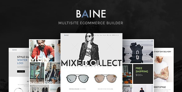 Baine | Responsive Multipurpose WooCommerce Theme 1