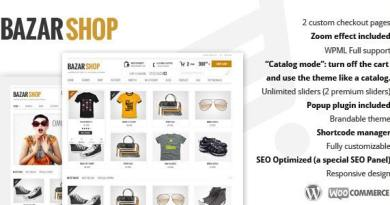 Bazar Shop - Multi-Purpose e-Commerce Theme 4