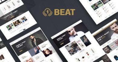Beatshop Creative WooCommerce WordPress Theme 3