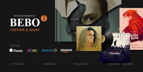 BEBO - Book Issue CD/DVD Store Publish Library WP 10