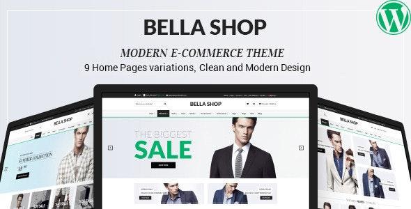 Bella - eCommerce Shop WordPress Theme 4