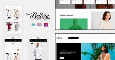 Bellery - Modern & Minimal WooCommerce Theme 3