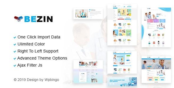 Bezin – Pharmacy & Health WooCommerce Theme 8