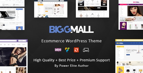 BiggMall - Multipurpose WooCommerce Theme 1