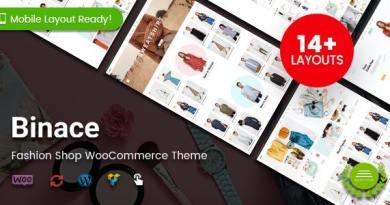 Binace - Fashion Shop WordPress WooCommerce Theme 16