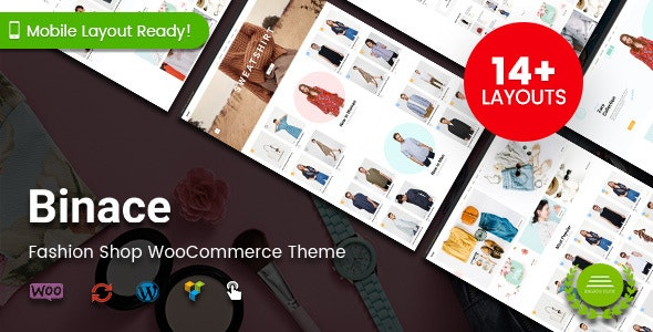 Binace - Fashion Shop WordPress WooCommerce Theme 6