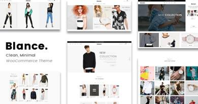 Blance - Clean, Minimal WooCommerce WordPress Theme 3