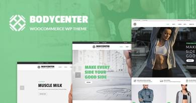 BodyCenter - Gym, Fitness WooCommerce WordPress Theme 4