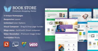 Book Store WordPress WooCommerce Theme 3