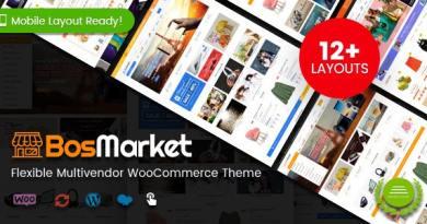 BosMarket - Flexible Multivendor WooCommerce WordPress Theme (12 Indexes + 2 Mobile Layouts) 2