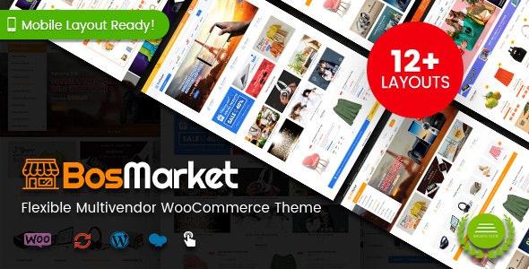 BosMarket - Flexible Multivendor WooCommerce WordPress Theme (12 Indexes + 2 Mobile Layouts) 1