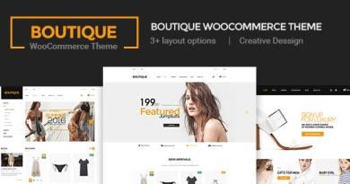 Boutique - Creative Multi-Purpose WooCommerce Theme 2