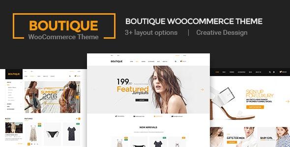 Boutique - Creative Multi-Purpose WooCommerce Theme 1