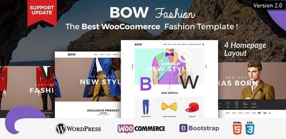 Bow - Responsive Wordpress Woocommerce Theme 1
