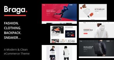 Braga - Fashion Theme for WooCommerce WordPress 2