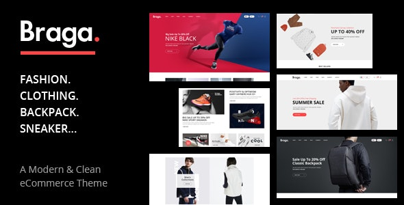 Braga - Fashion Theme for WooCommerce WordPress 4