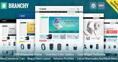 Branchy - WooCommerce Responsive Theme 3