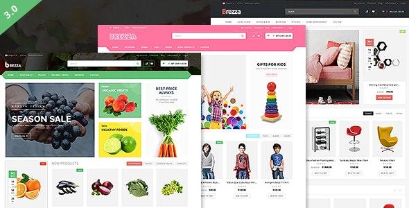 Brezza - Fruit Store Multipurpose WooCommerce WordPress Theme 1