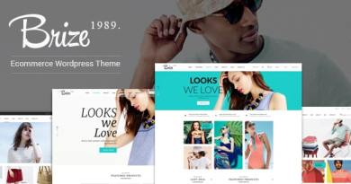 Brize - Responsive WooCommerce Fashion Theme 4