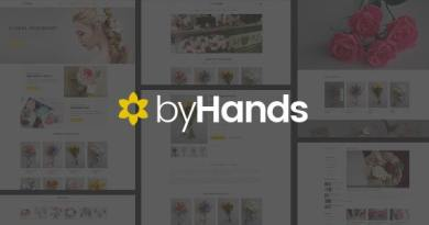ByHands - Flower Store WooCommerce Theme 3