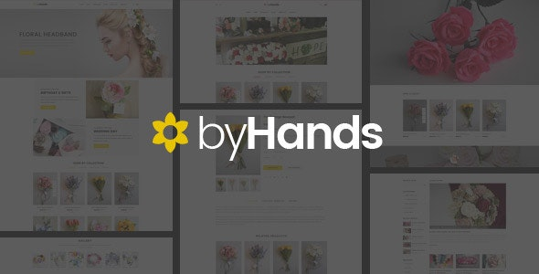 ByHands - Flower Store WooCommerce Theme 5