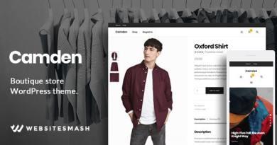Camden - Boutique Store WordPress Theme 2