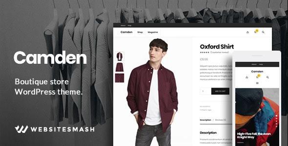 Camden - Boutique Store WordPress Theme 4