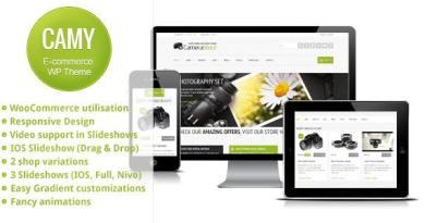 Camy - WordPress Shop 2