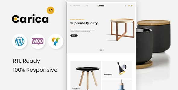 Carica - Furniture Handmade Shop WooCommerce Theme 5