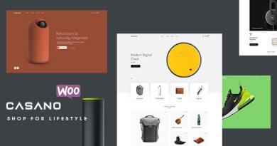 Casano - Fashion & Accessories WooCommerce Theme 2