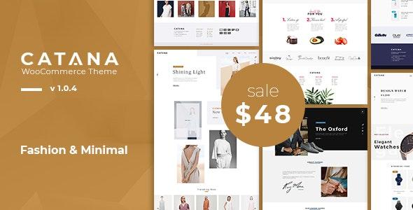 Catana - Fashion & Minimal WooCommerce WordPress Theme 1