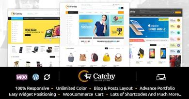 Catchy - Multipurpose WooCommerce Theme 2