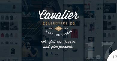 Cavalier - We Sell the Trends. Woocommerce Theme 2