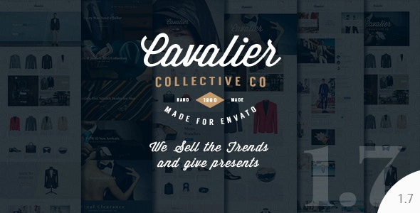 Cavalier - We Sell the Trends. Woocommerce Theme 1