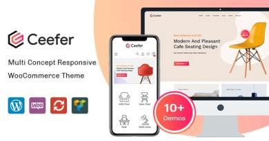 Ceefer - Creative WooCommerce Theme 2