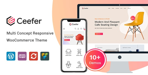 Ceefer - Creative WooCommerce Theme 1