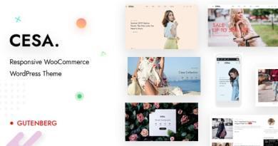 Cesa - Gutenberg WooCommerce WordPress Theme 6