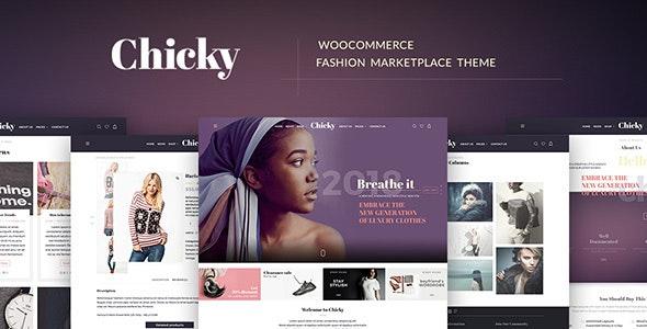 Chicky - WordPress Fashion Marketplace Theme 1