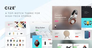 Cize - Electronics Store WooCommerce Theme (RTL Supported) 2