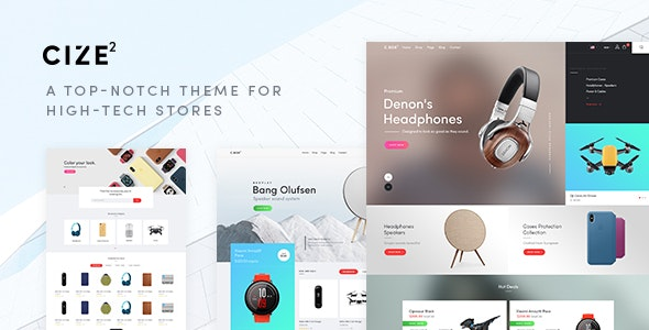 Cize - Electronics Store WooCommerce Theme (RTL Supported) 1