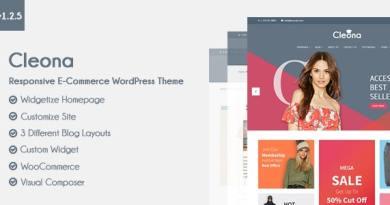 Cleona - Responsive E-Commerce WordPress Theme 4