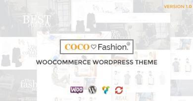 Coco - Fashion Responsive WordPress Theme 3
