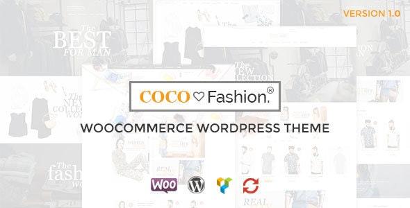 Coco - Fashion Responsive WordPress Theme 1