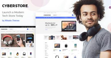 CyberStore - Simple eCommerce Shop 3